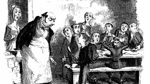 George Cruikshank illustration for Charles Dickens Oliver Twist