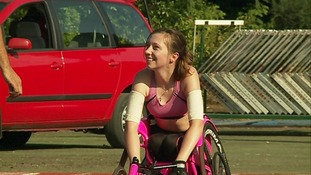 Shelby is now ranked number one in the UK at every distance in wheelchair racing