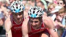 Brownlee brothers win gold and silver at Commonwealth triathlon