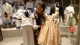 This sailor suit was worn by Prince William at the Duke and Duchess of York's Wedding.