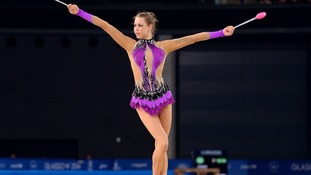 Frankie Jones is Wales' most successful ever Commonwealth gymnast.
