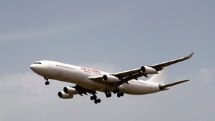 An Air Algerie plane like the one which crashed in Mali.