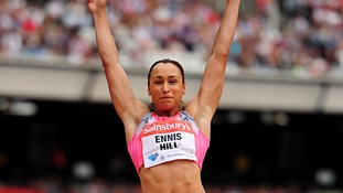 Jessica Ennis-Hill, Olympic champion.