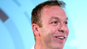 Sir Chris Hoy had to produce ID to enter a stadium named after him.