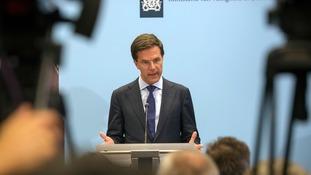 Dutch Prime Minister Mark Rutte.