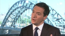 Osborne celebrates GDP growth but questions remain