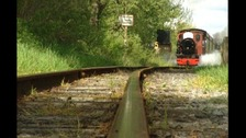 Thanks to Heritage Lottery funding, the railway is being extended