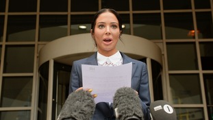 Tulisa Contostavlos makes a statement