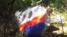 Newly-found MH17 wreckage unguarded in forest