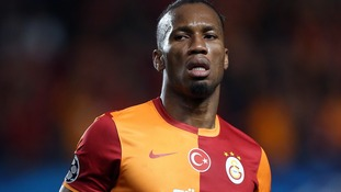 Didier Drogba, Galatasaray, former Chelsea player.
