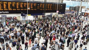 Delays at London Waterloo