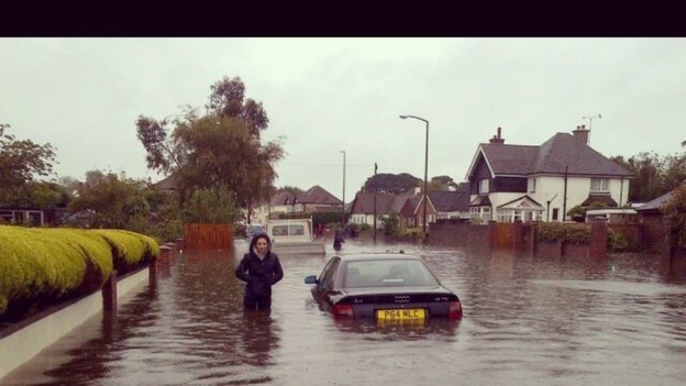 Flooding in Felpham