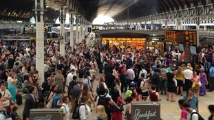 Paddington delays