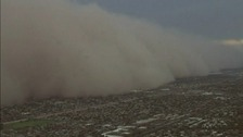 Huge dust storm 'haboob' sweeps across Arizona