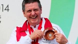 Michael Gault wins bronze