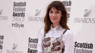 Scottish Fashion Awards Alexa Chung