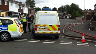 Bomb disposal experts have carried out seven controlled explosions in Newhall