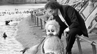 Keith Harris with his puppet Orville who was a children's TV hit in the 1980s.