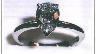 York police appeal for return of diamond ring