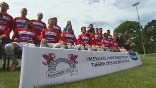 Pontypridd Town prepare for Valencia