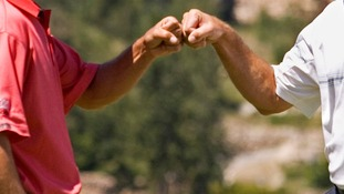 Fist bumps could reduce the spread of infectious diseases, scientists have claimed.