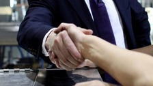 Handshake 'unhygienic' compared to other greetings