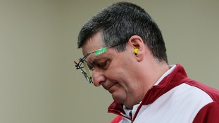 Michael Gault from Norfolk missed out on a place in the final of the 50m air pistol at the Commonwealth Games.
