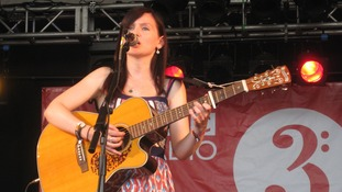 Maz O'Connor at WOMAD 2014