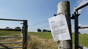New fracking sites could soon be springing up across the country.
