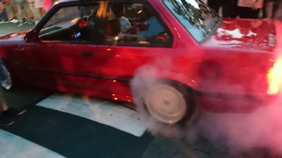 17 injured at 'car meet' in Plymouth