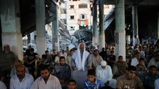Palestinians mark Eid in Gaza amid lull in hostilities