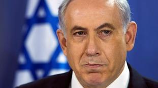 Israeli PM Benjamin Netanyahu.