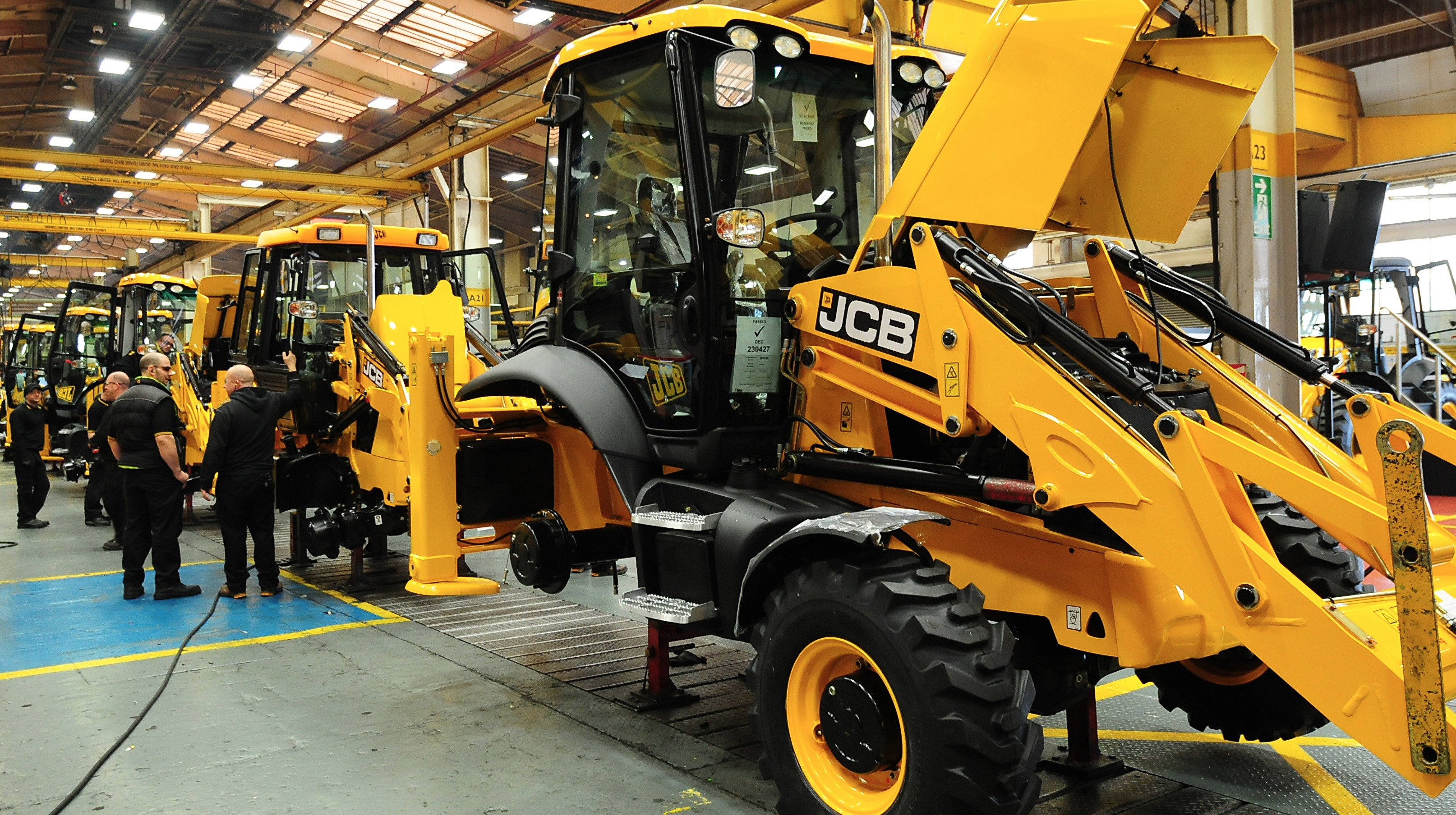 Staffordshire Based Jcb Takes 163 35 Million Order Central