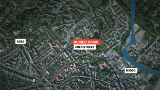 unexploded bomb found in Frome