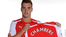 Arsenal confirm the signing of Calum Chambers