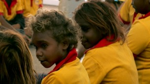 School attendance for Aboriginal children in Australia falls dramatically in their teens.