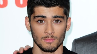 One Direction star Zayn Malik