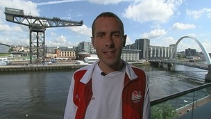 Commonwealth marathon runner Steve Way speaks to ITV News.