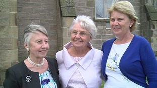 Jean Rosie, Anne Rosie and Margaret Collin