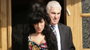 Mitch with Amy Winehouse in north London in 2009.