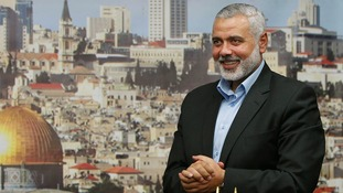 Senior Hamas leader Ismail Haniyeh pictured last month.