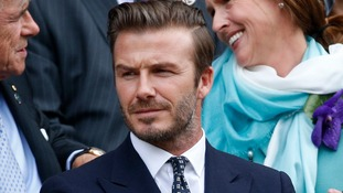David Beckham was the third best-known Britain behind the Queen and William Shakespeare.