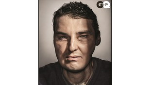 Richard Norris pictured in US GQ's August edition.