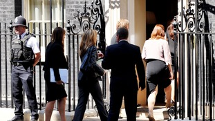 More family members enter Number 10.