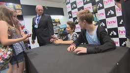 BGT finalists Bars and Melody visit their fans in Cardiff