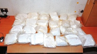 £1.55m drugs seized from four men
