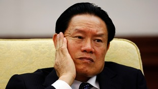 ormer, top security official, Zhou Yongkang.