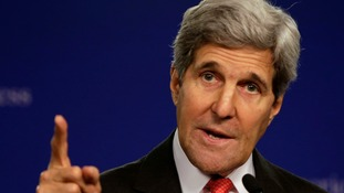 John Kerry has accused Russian separatists of having an appalling lack of decency.