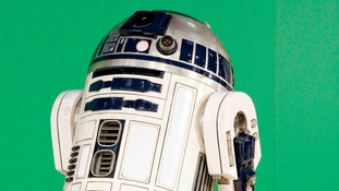The R2D2 robot from the original films.