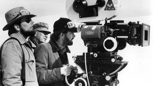 George Lucas filming in 1980.